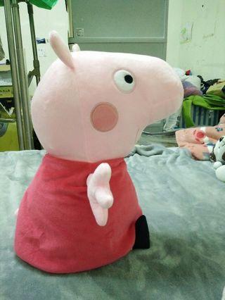 佩佩豬娃娃 45公分 12英寸 正版