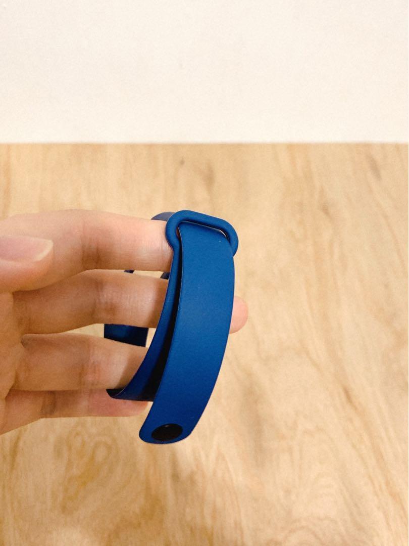 【全新】小米手環4腕帶-深空藍