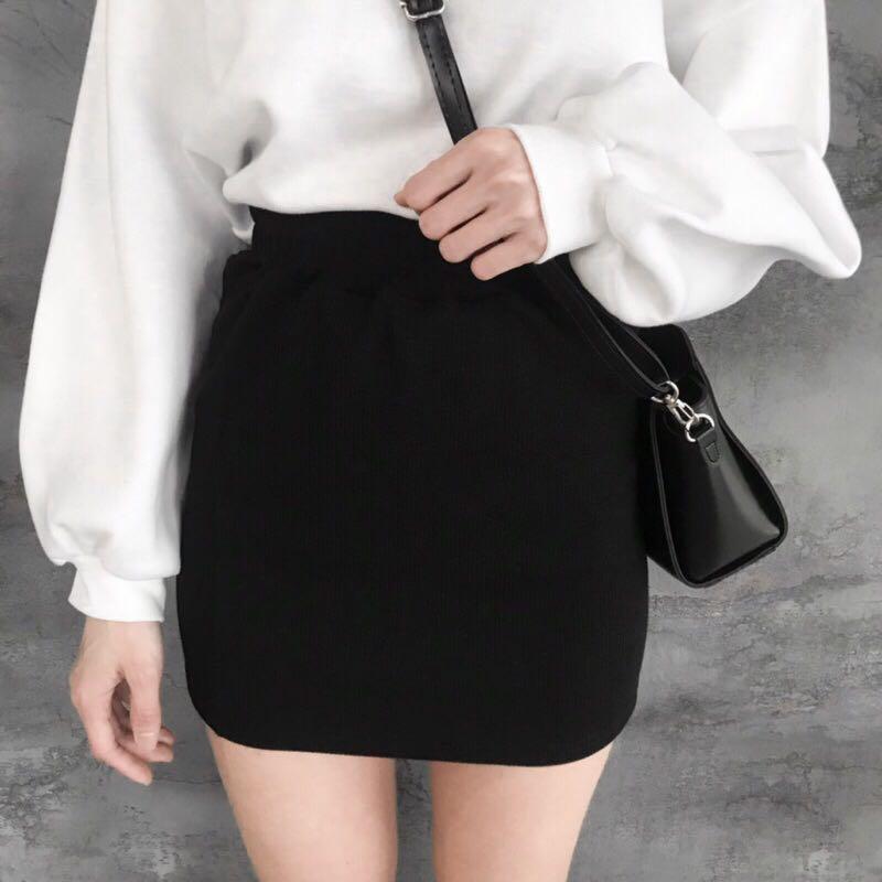 鬆緊褲頭彈性棉質包裙