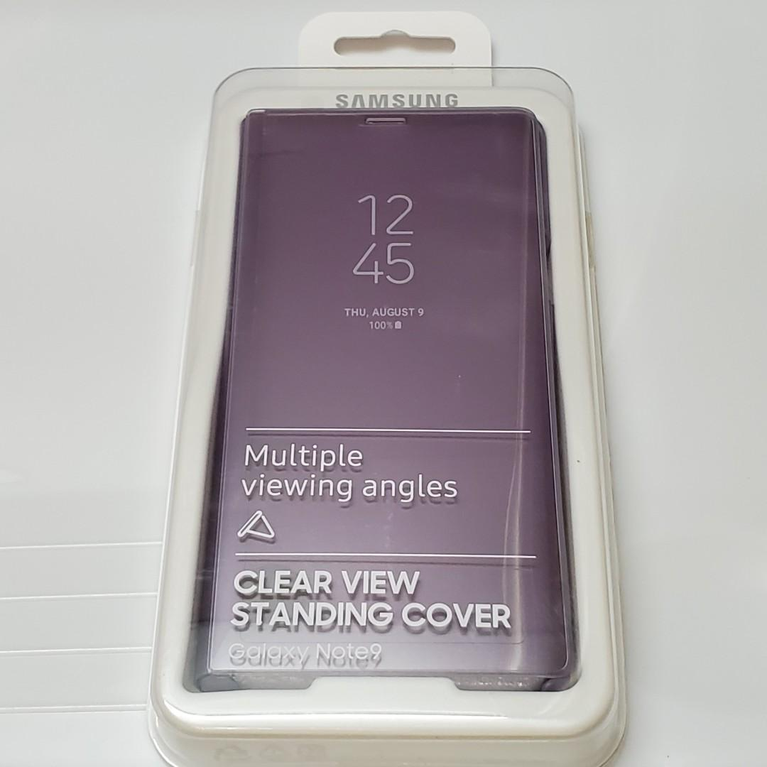 原裝 三星 GALAXY NOTE9  CLEAR VIEW STANDING CASE COVER 手機套