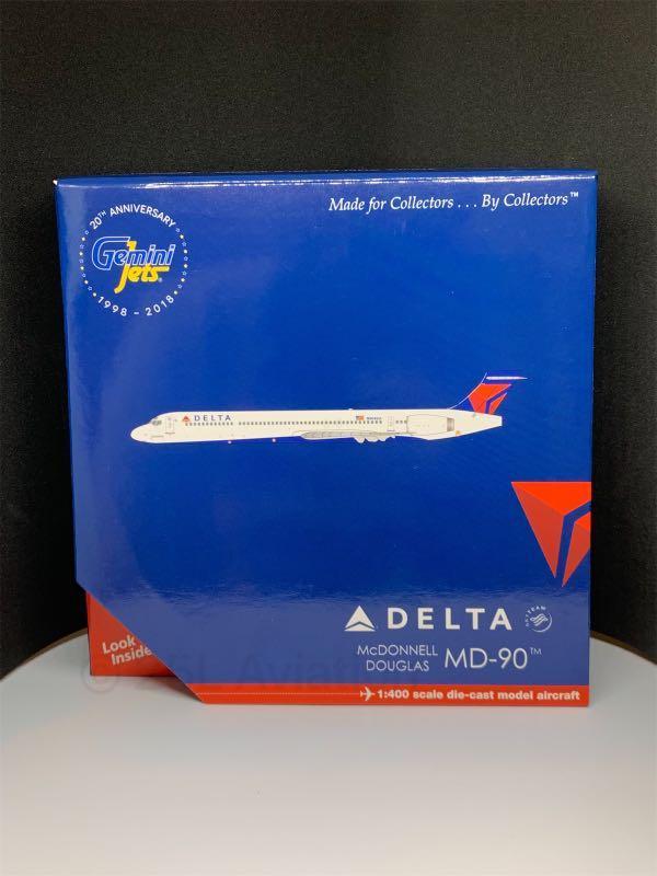 [ Gemini Jets  1:400 ]   達美航空 DELTA AIRLINES MD-90 N904DA