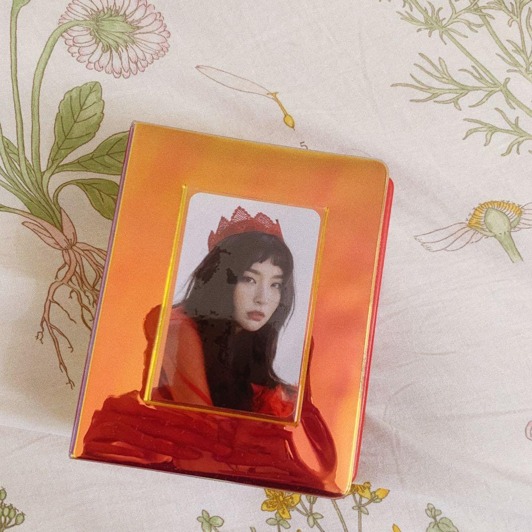 [ wts ] red velvet perfect velvet photocard album