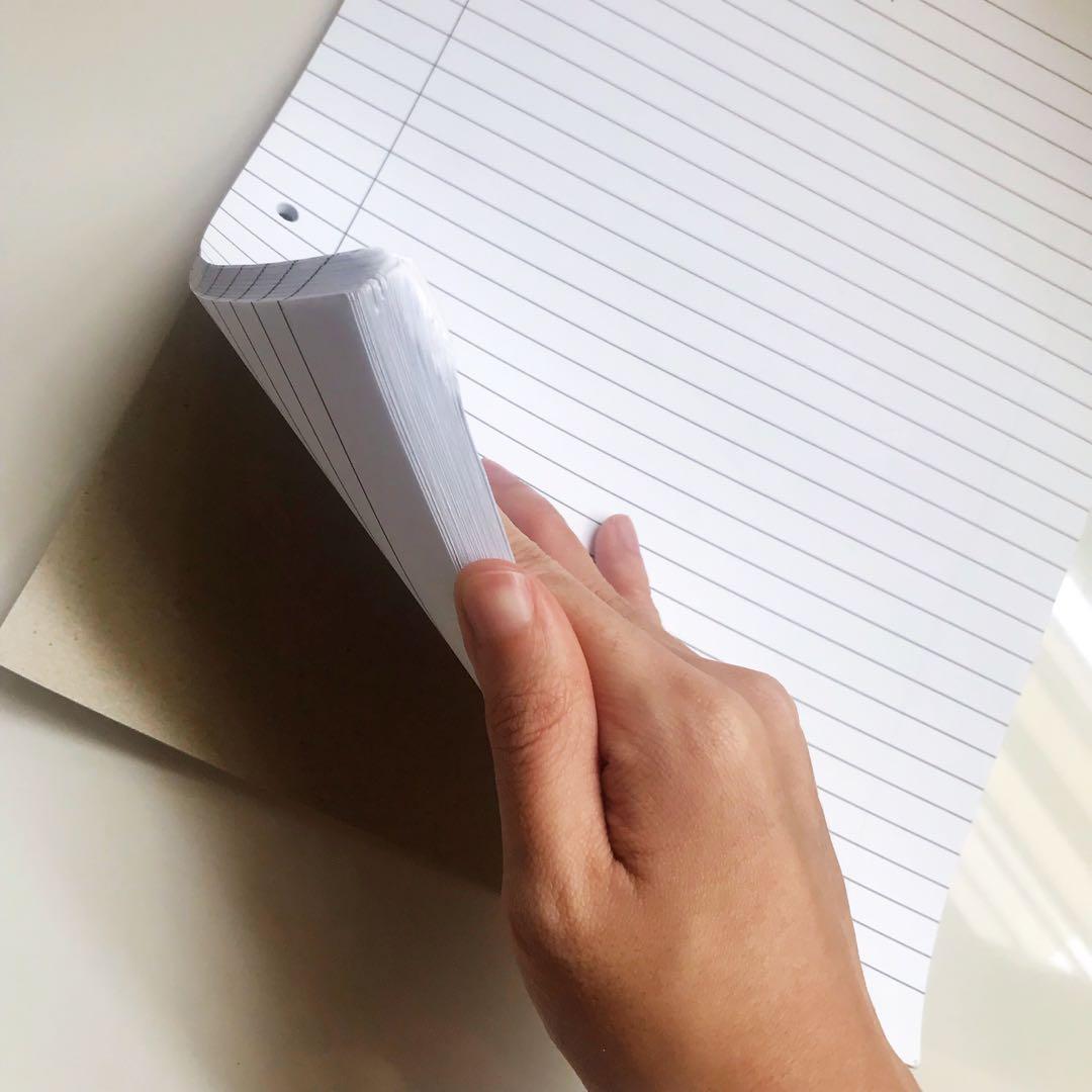 A4 Foolscap Paper/ Writing Pad NTU