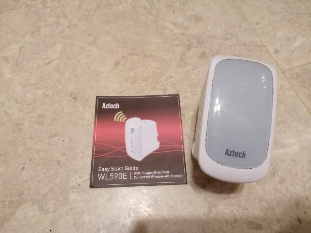 WIFI Wireless-AC Repeater - Aztech WL590E