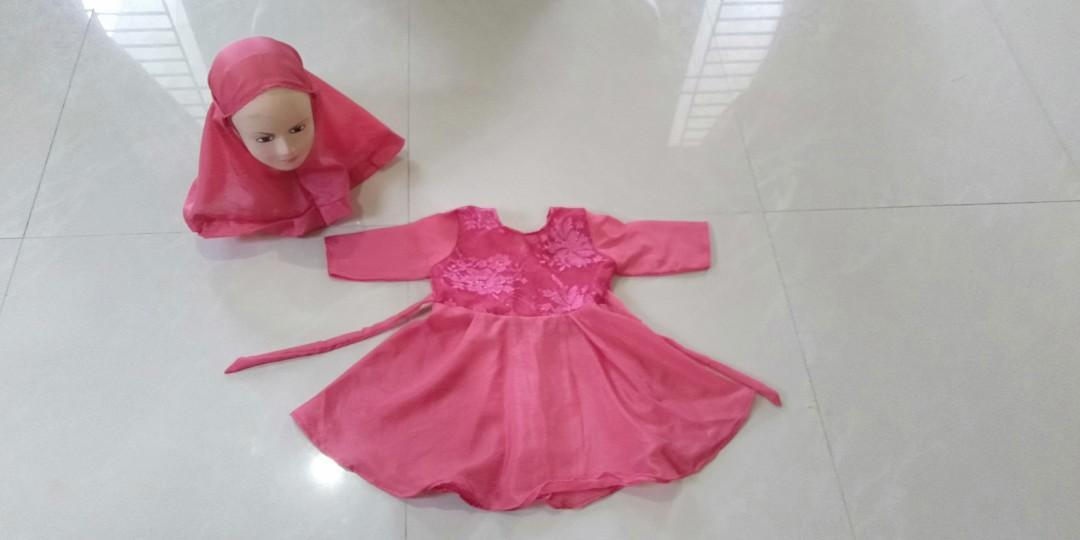 Best Seller dress hijab anak usia 1 tahun New 35K