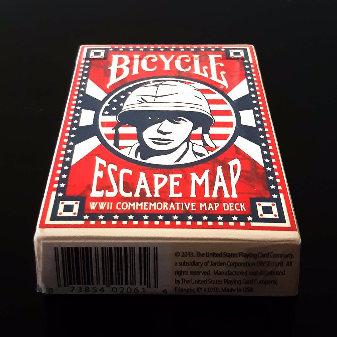Bicycle Escape Map Playing Card, Toys & Games, Board Games ...