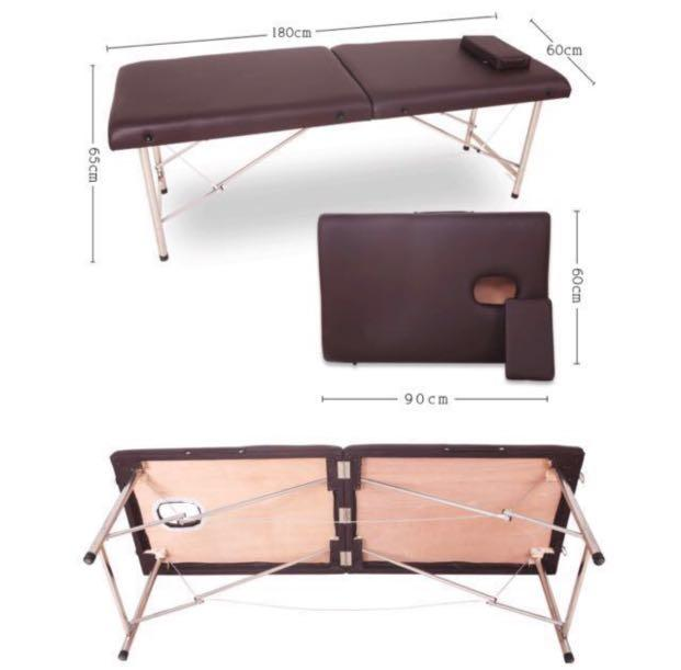 Mad offer portable therapy massage bed +free pillow Good Quality