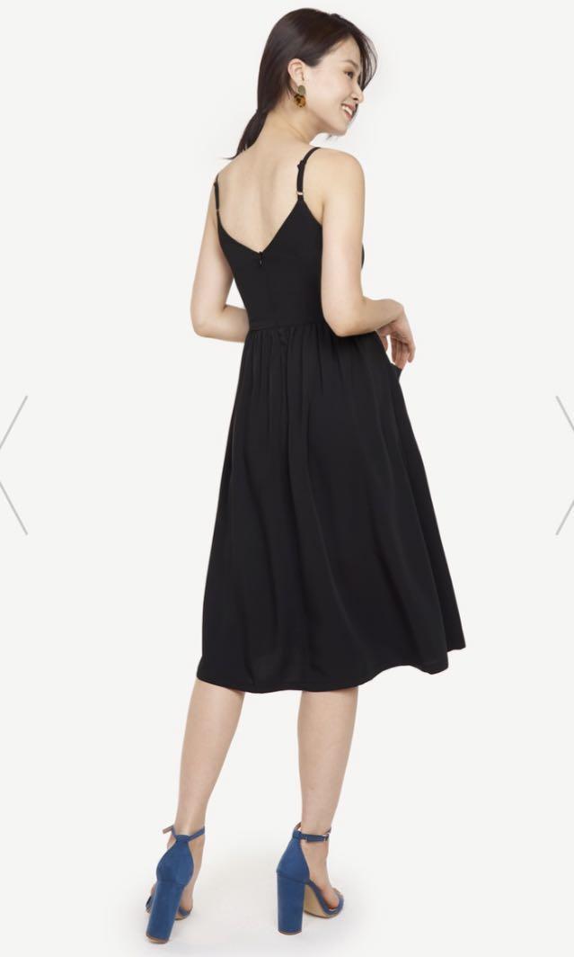BNWT Fayth Laela Pocket Midi Dress