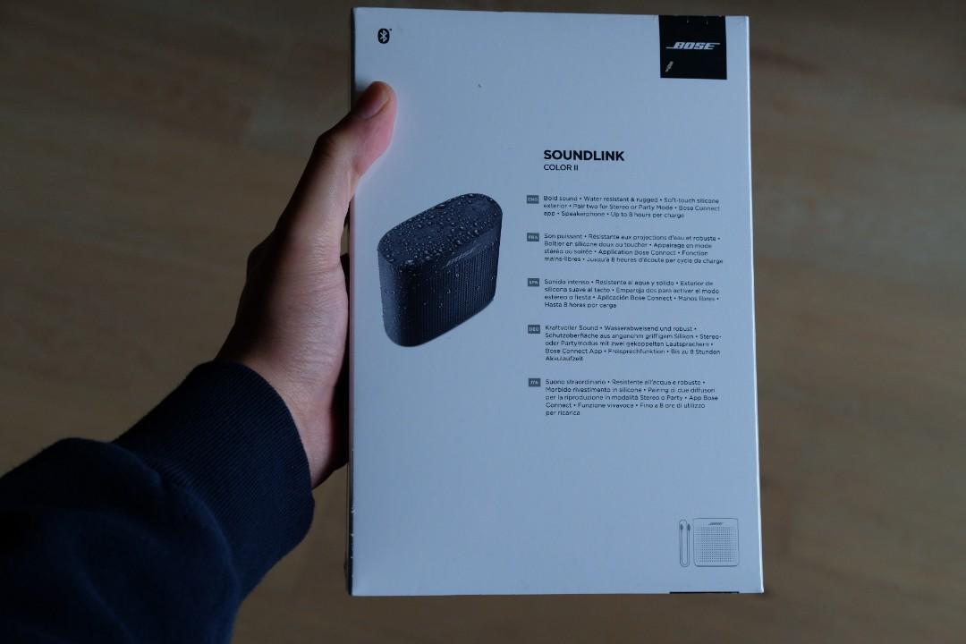 Bose SoundLink Color Bluetooth speaker II Limited Edition/Midnight Blue