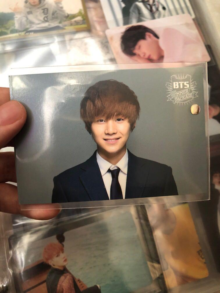 Bts Suga 2014 Summer Package Photocard Entertainment K Wave On