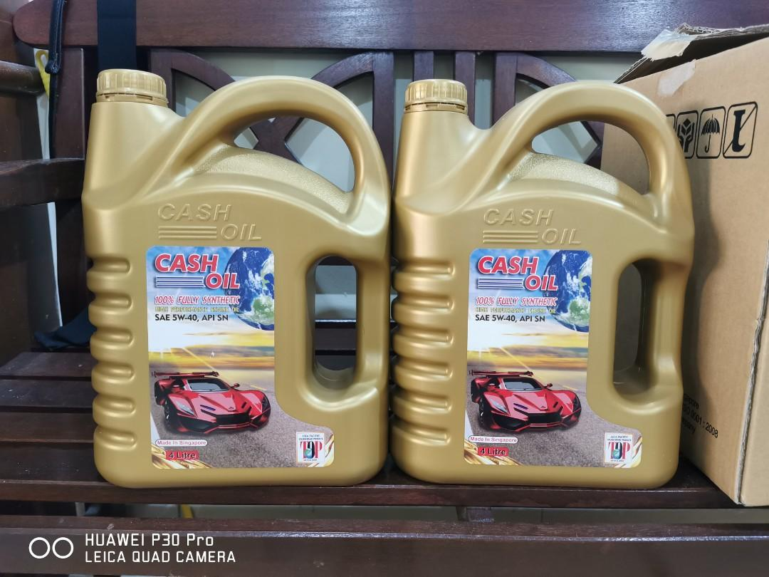 CASH OIL SAE SYNTHETIC API SN (SAE 5W40) (4 Litre)