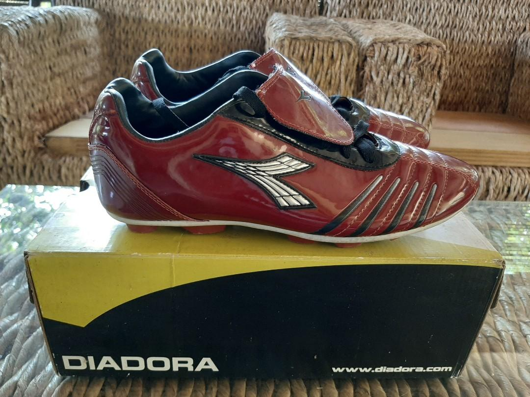 Diadora Football Cristaldo FG WS Red Size 43