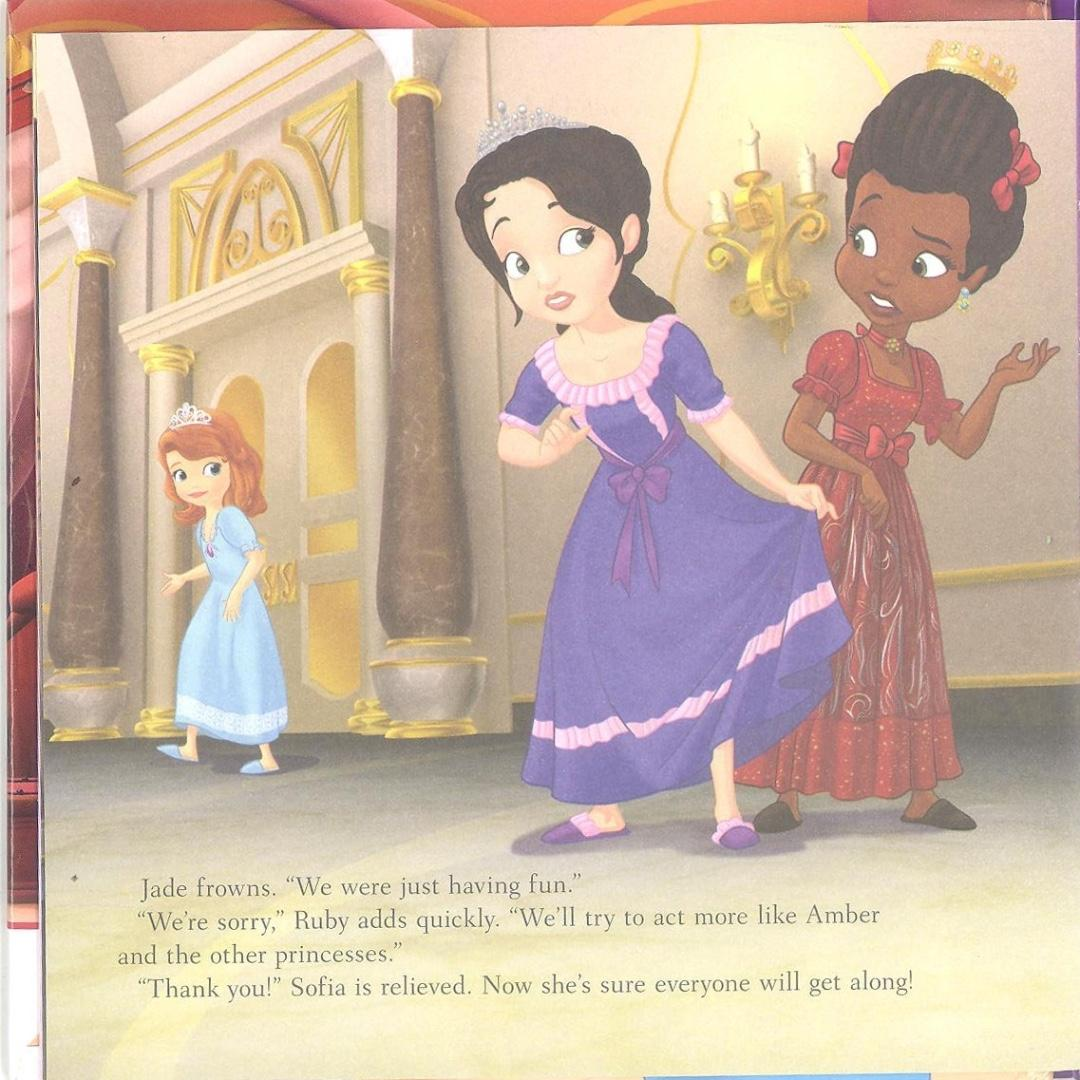 Disney Sofia the First - The Royal Slumber Party   English   Story Book   Children's Book