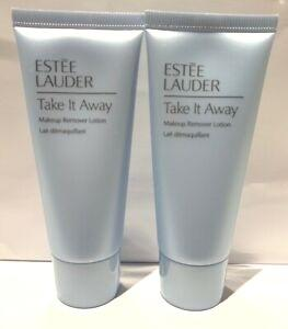 ESTEE LAUDER Take It Away Makeup Remover Lotion. 30ml x 2. New.