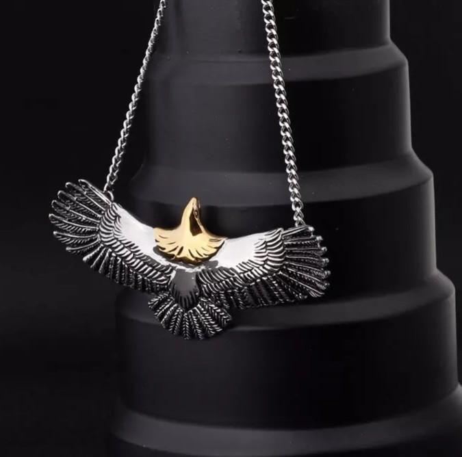 Flying Eagle Pendant With Necklace Free Shipping