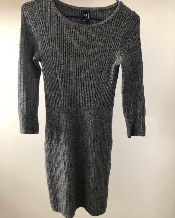 Gap Body Con Knit Dress