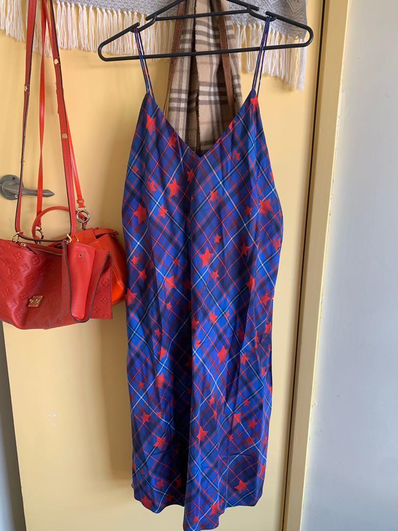 GiGi Hadid x Tommy Hilfiger slip dress never worn size 12
