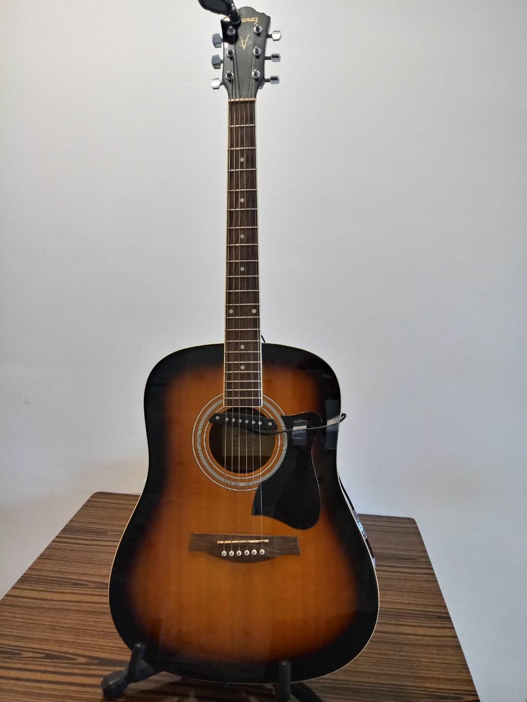 """Ibanez 41"""" acoustic guitar premium package (please see below for item details)/Ibanez 41"""" 木吉他五星級组合(物件詳情請參考下面註解)"""