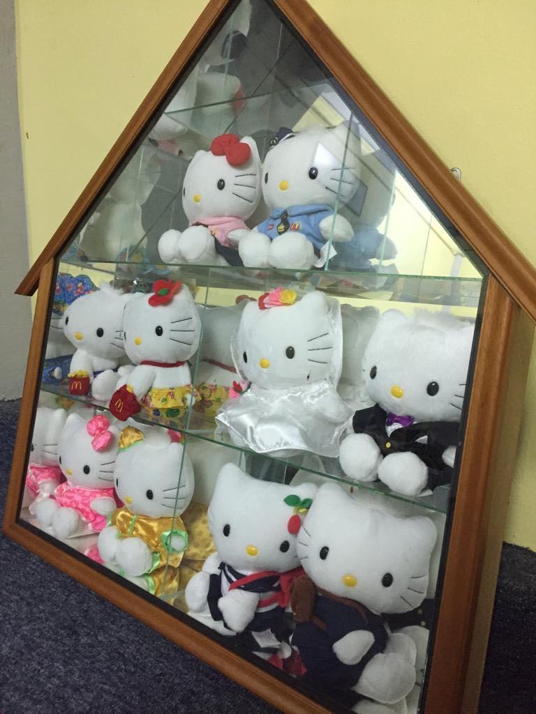 #HelloKitty dolls collection