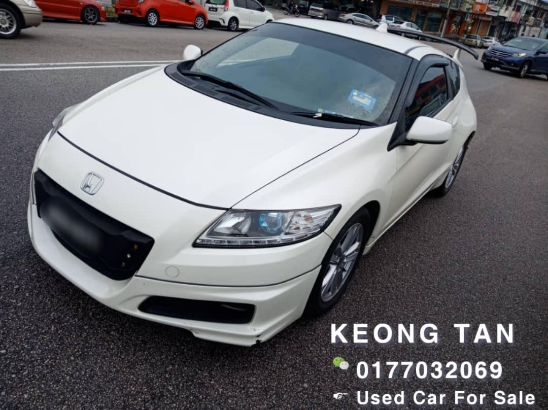 HONDA CRZ 1.5AT(HYBRID)Sporty Model 2012TH🌟Full Loan🎉Low MILEAGE 7XXXXKM Cash💰OfferPrice💲Rm50,800 Only‼ LowestPrice InJB‼Call📲Keong🤗