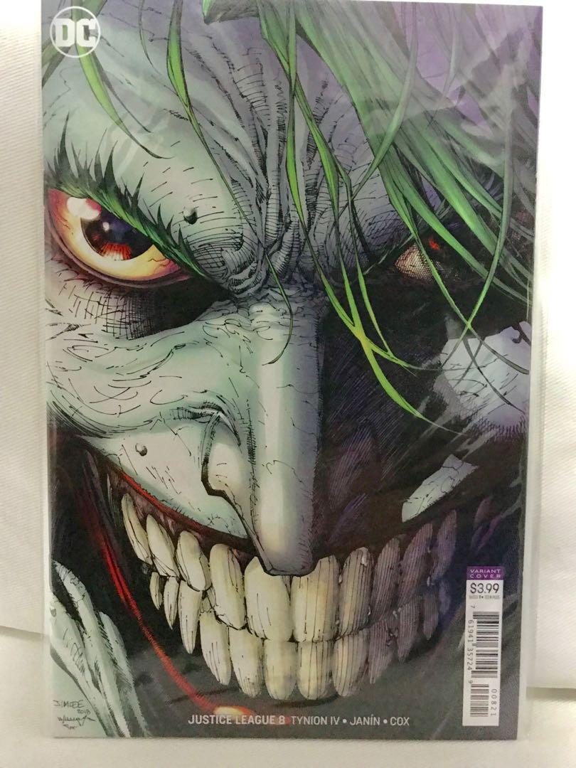 Justice League 12 2018 Lucio Parrillo Cover B Variant 1st Print DC Comics NM+