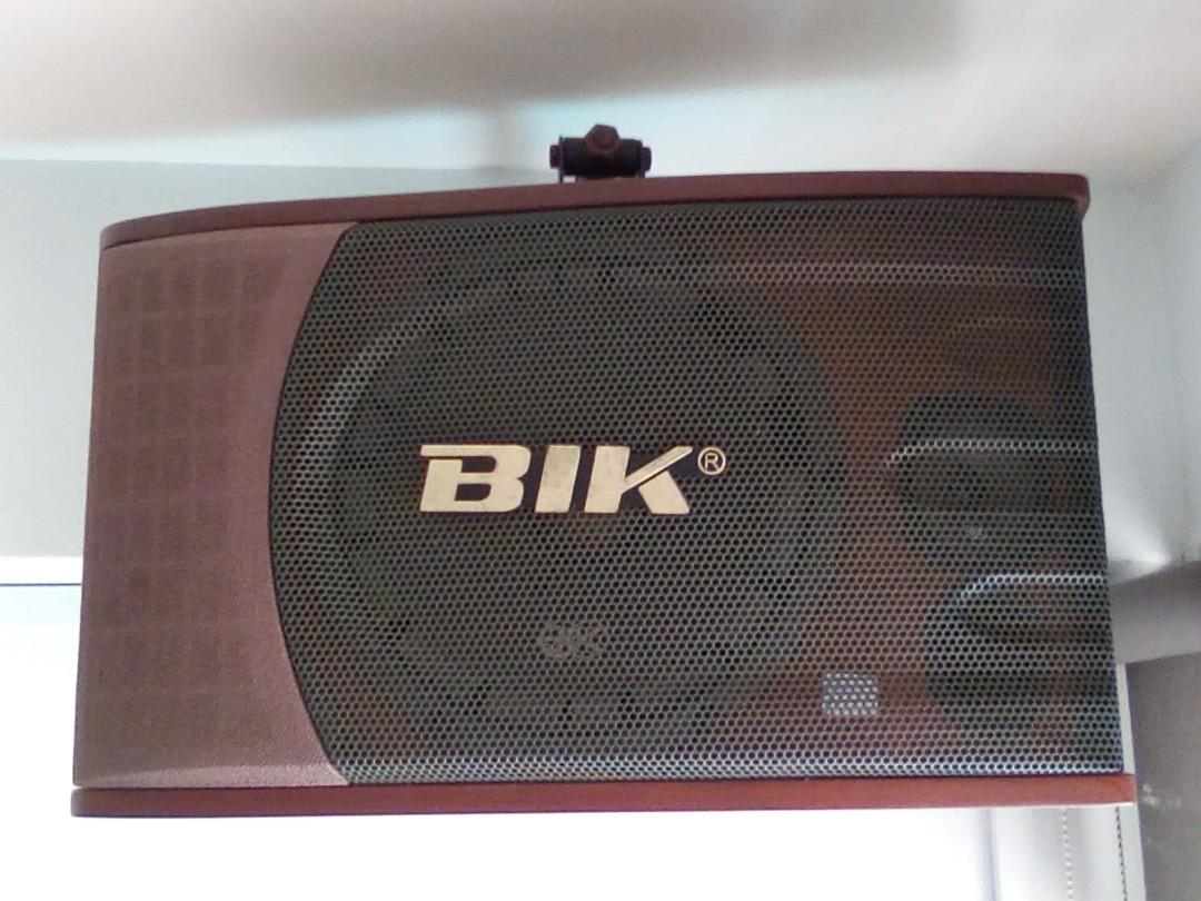 BIK Karaoke and sound system
