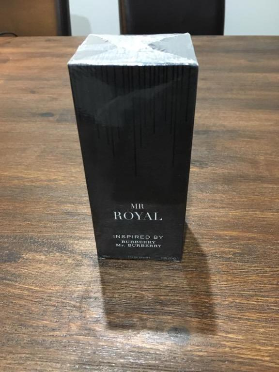 Mr Royal Burberry Perfume, brand new sealed.
