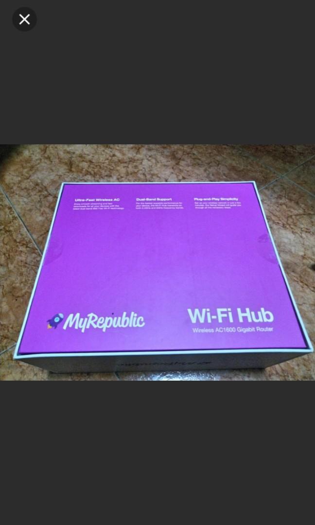MyRepublic Wifi Hub AC1600
