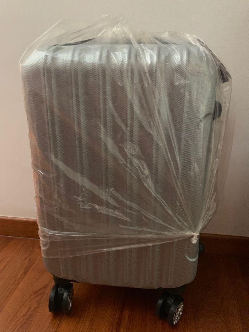 New Silver Color Luggage (20 cm by 54cm by 33cm)