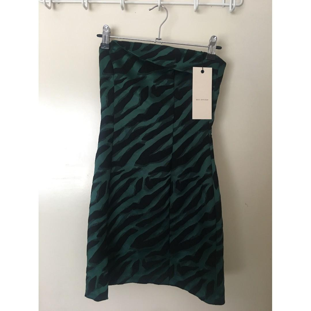 RENT/BUY *NEW*  BEC & BRIDGE Discotheque Dress Size 6