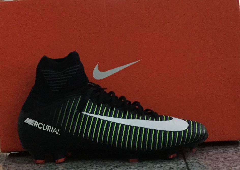 big sale d5f0b 443c7 Nike Mercurial Superfly V FG Boys- US 4.5-used once, Sports ...