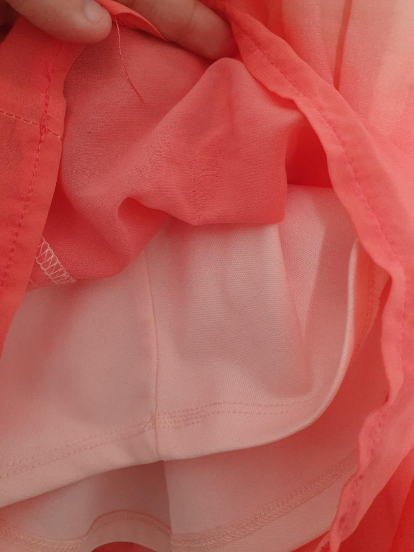 Ombre Peach Skirt