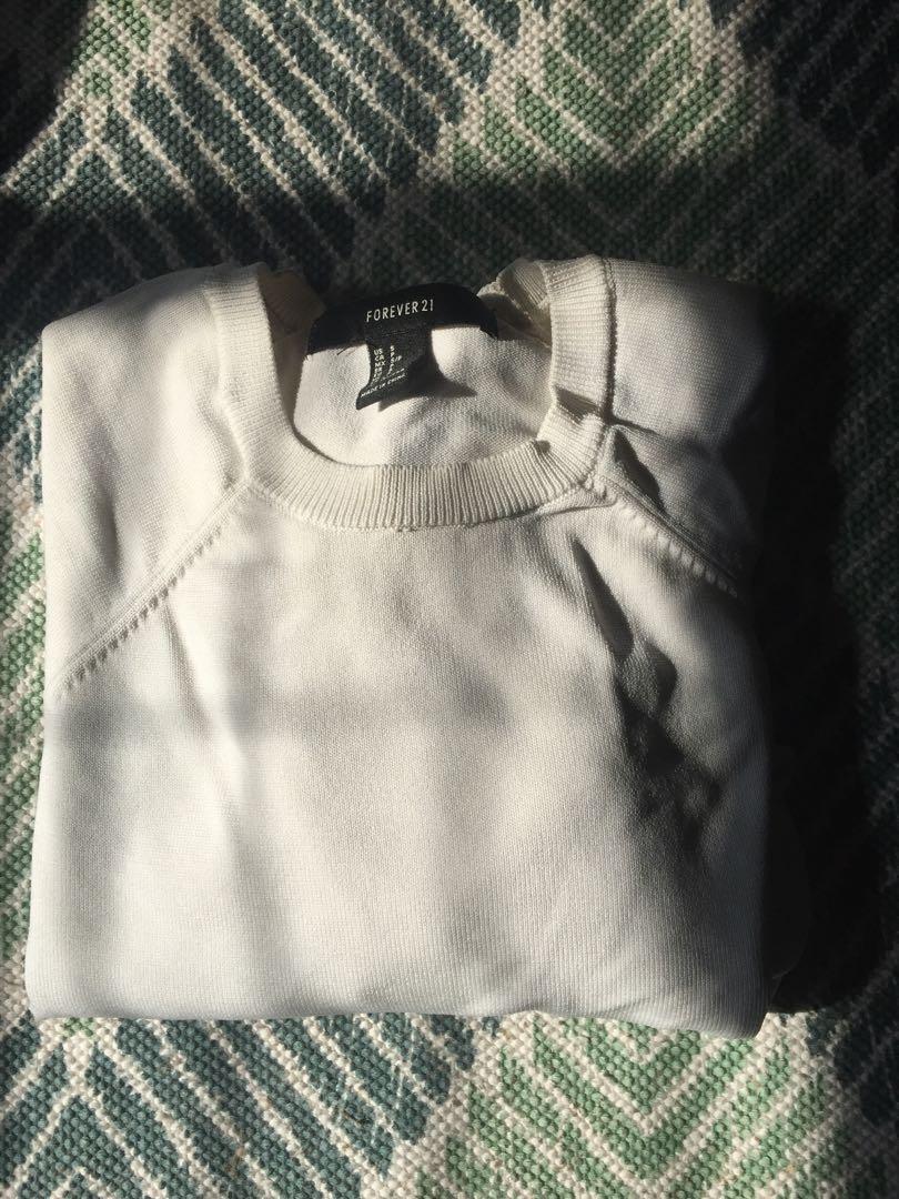 Plain white long sleeve