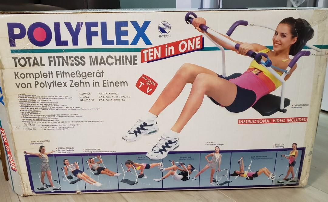 Polyflex Ten in One Fitness Machine