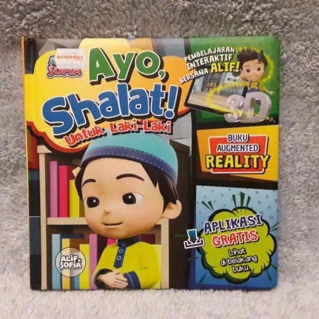"Ready Stock Augmented Realty Book Buku Ajaib Little Hippo ""AYO SHALAT"" / Buku BBW"