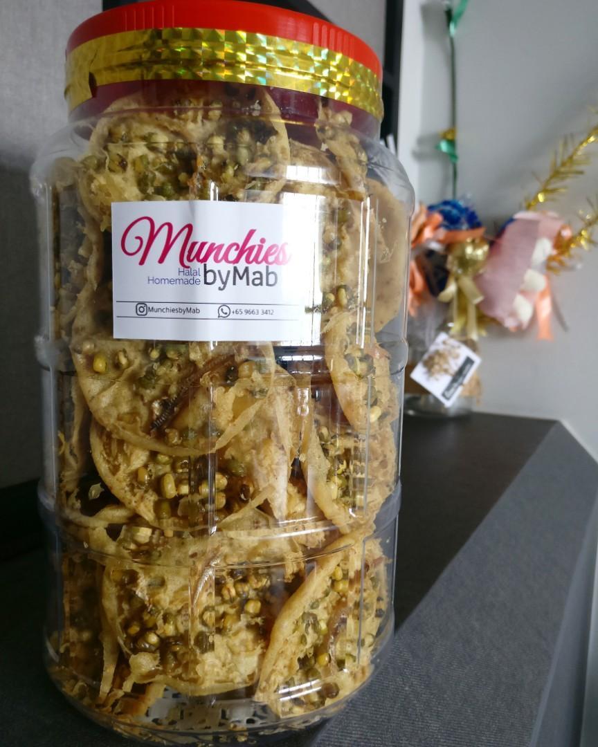 Rempeyek Tumpi (Green Beans)