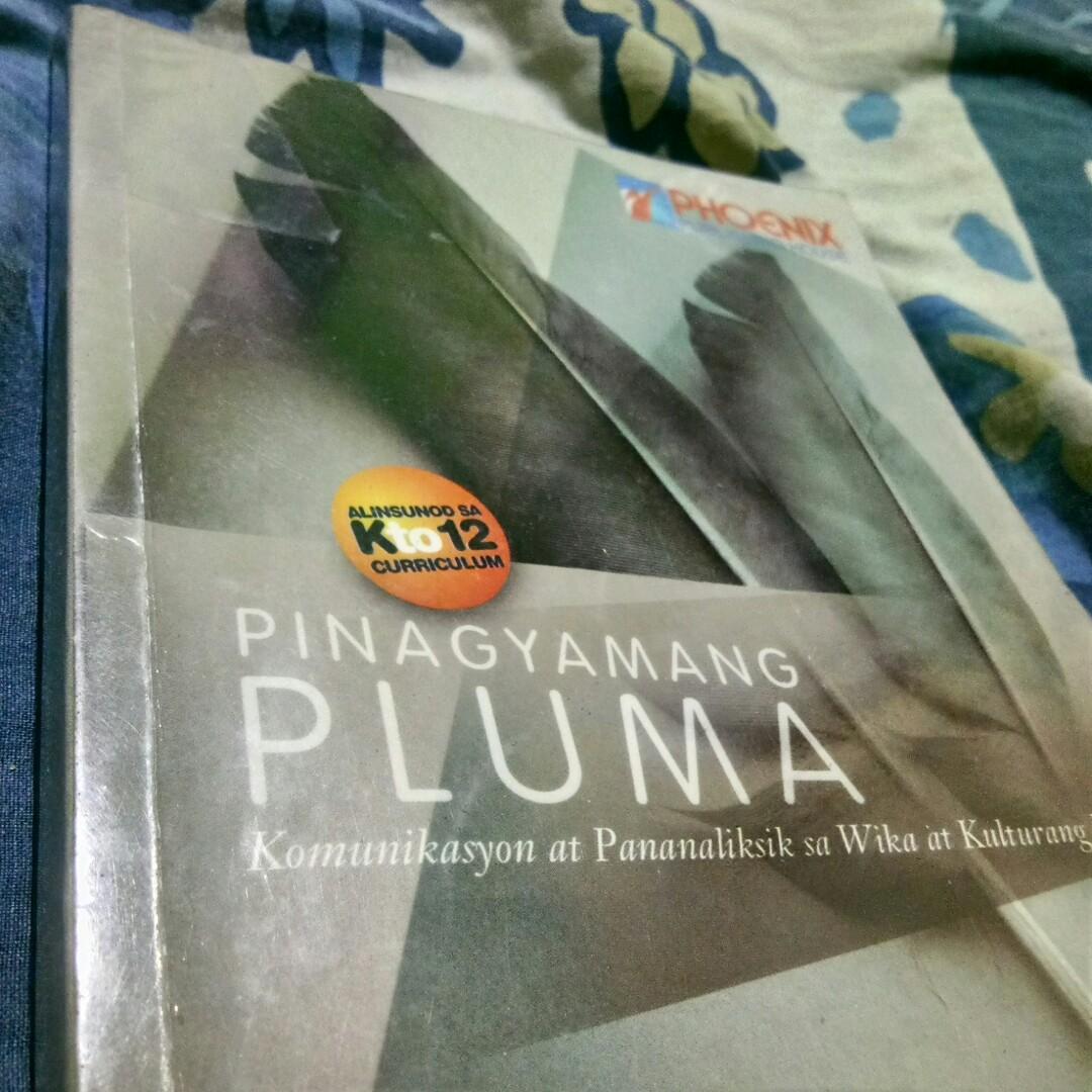 Senior High School Book: Pinagyamang PLUMA, KOMUNIKASYON AT PANANALIKSIK sa Wika at Kulturang Pilipino, PHOENIX Publishing House