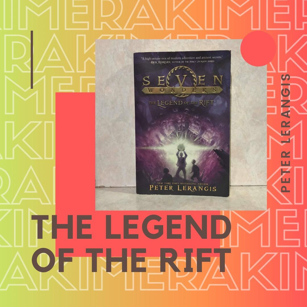 The Legend of the Rift (Seven Wonders series book 5) - Peter Lerangis (Paper Back)