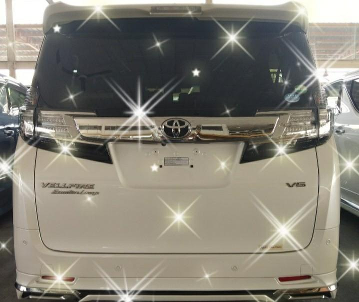 TOYOTA VELLFRE EXECUTIVE ZG 3.5CC  YEAR~2017 FUEL~Petrol✔ FROM~Japan ✔ MILEAGE~13,000✔