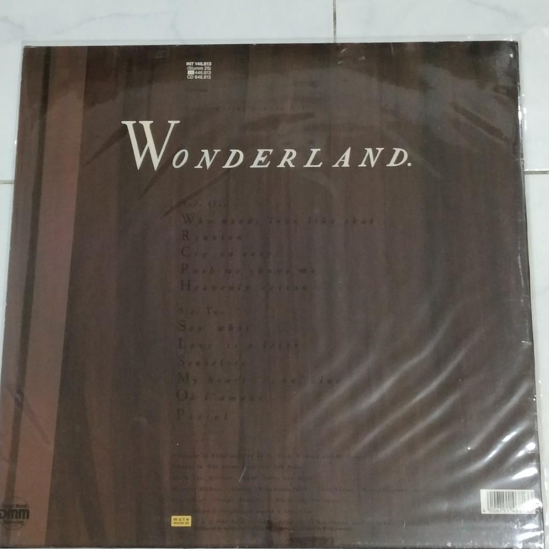 Vinyl LP : Erasure ~ Wonderland