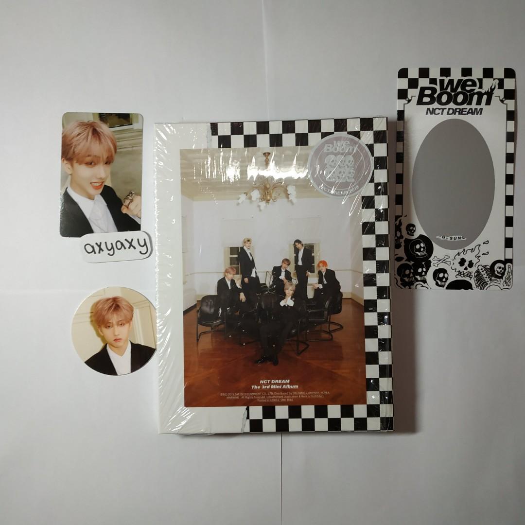 [WTS] NCT Dream 3rd Mini Album: We Boom Jisung Full Set