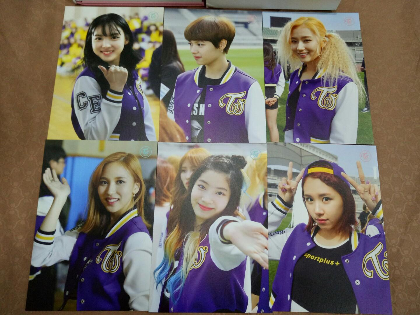 WTS TWICE Page Two Monograph Limited Edition Postcard