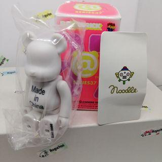 Bearbrick Series 37 Artist Noodle toy figure