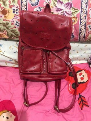 bagpack three second