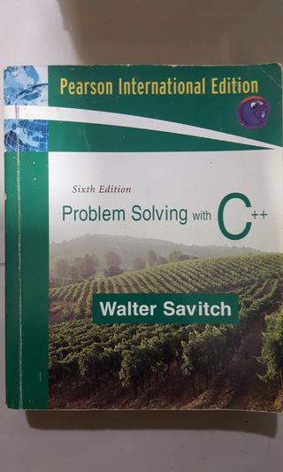 Problem Solving with C++ 6th edition - 2006