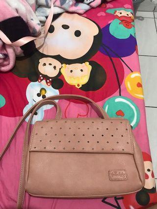 greenlight slingbag pink