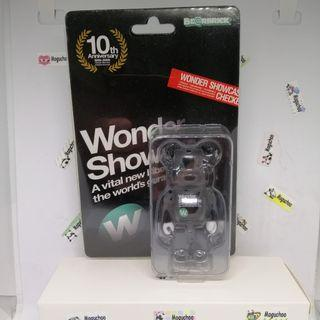 (rare) Bearbrick x WonderFest 2009 limited edition toy figure