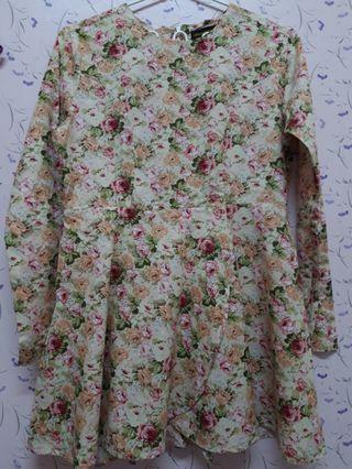 Baju Kurung Cotton Tulip