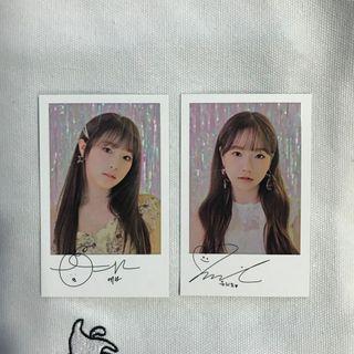 IZ*ONE - EyesOnMe Polaroid Set A