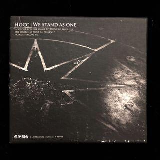 絕版 何韻詩 Hocc we stand as one 光明會 cd 2006
